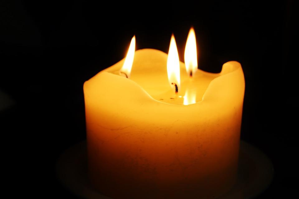 Candle, Advent, Wick, Warm, Cozy, Flame, Orange, Light