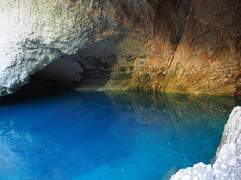 Water, Bluish, Light, Shimmer, Deep