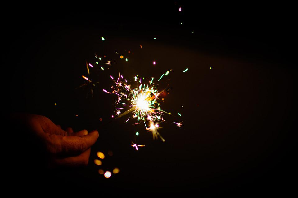 Sparkler, Fireworks, Colors, Diwali, Light, Deepavali