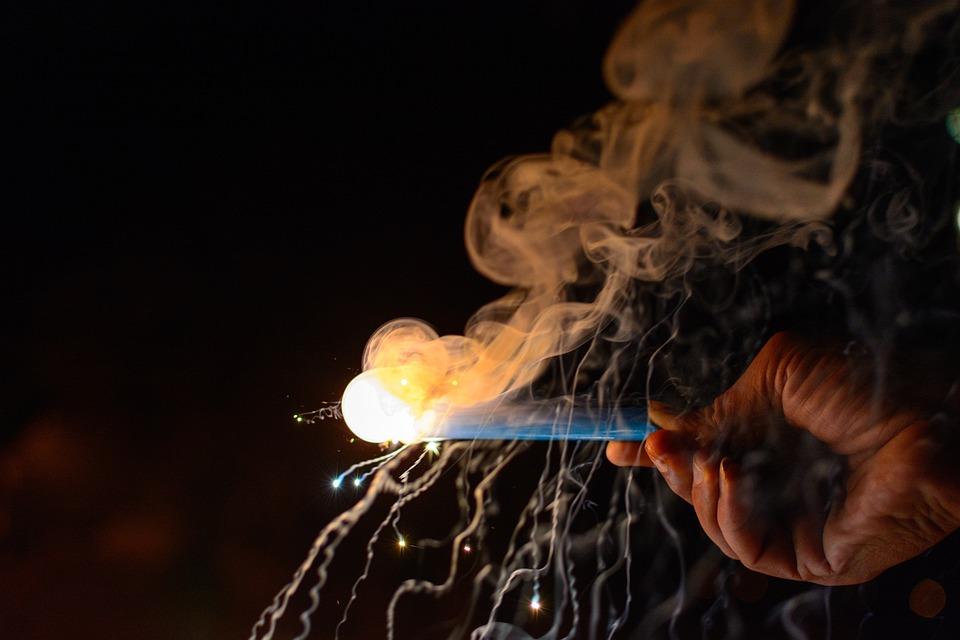 Sparkler, Fireworks, Colors, Diwali, Light, Deepavali