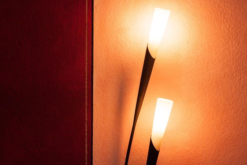 Lamp, Light, Floor Lamp, Design, Designer Lamp, Noble