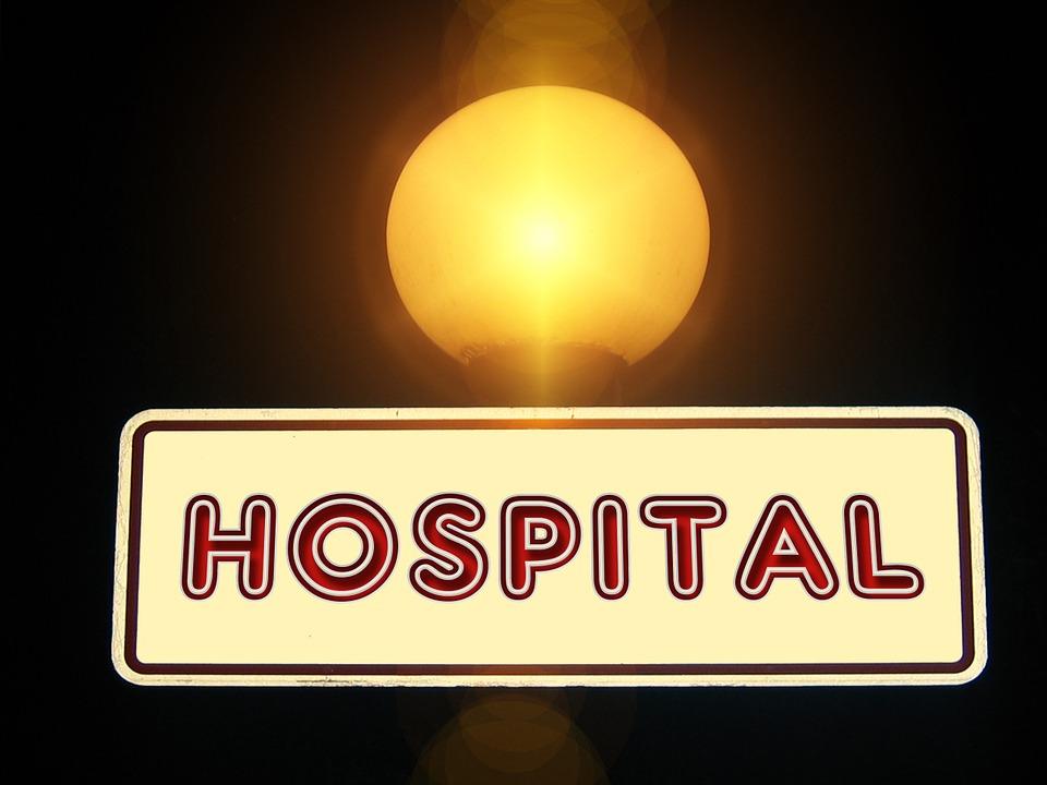 Hospital, Shield, Note, Lamp, Light, Directory