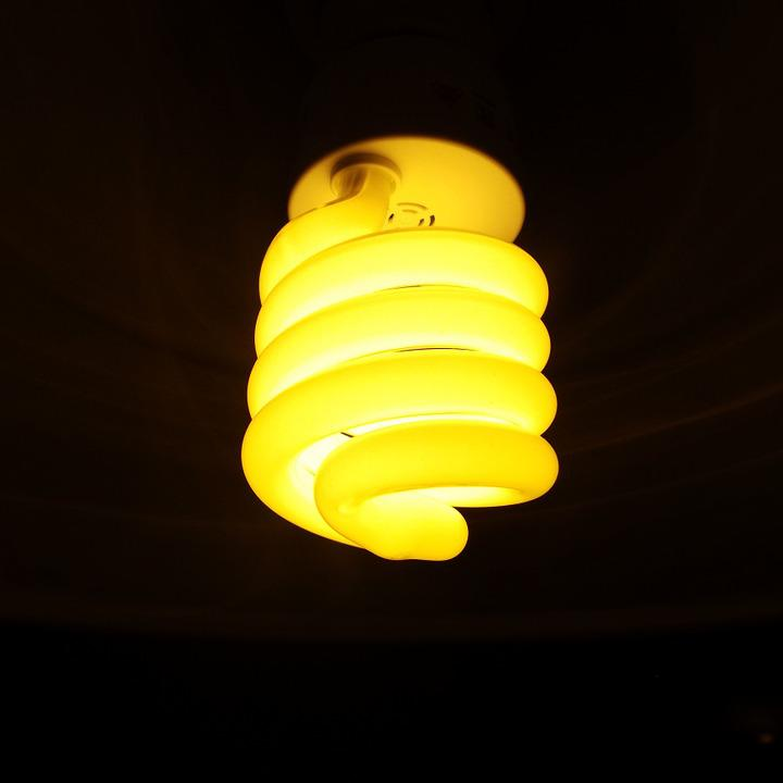 Energiesparlampe, Light, Lighting, Bulbs