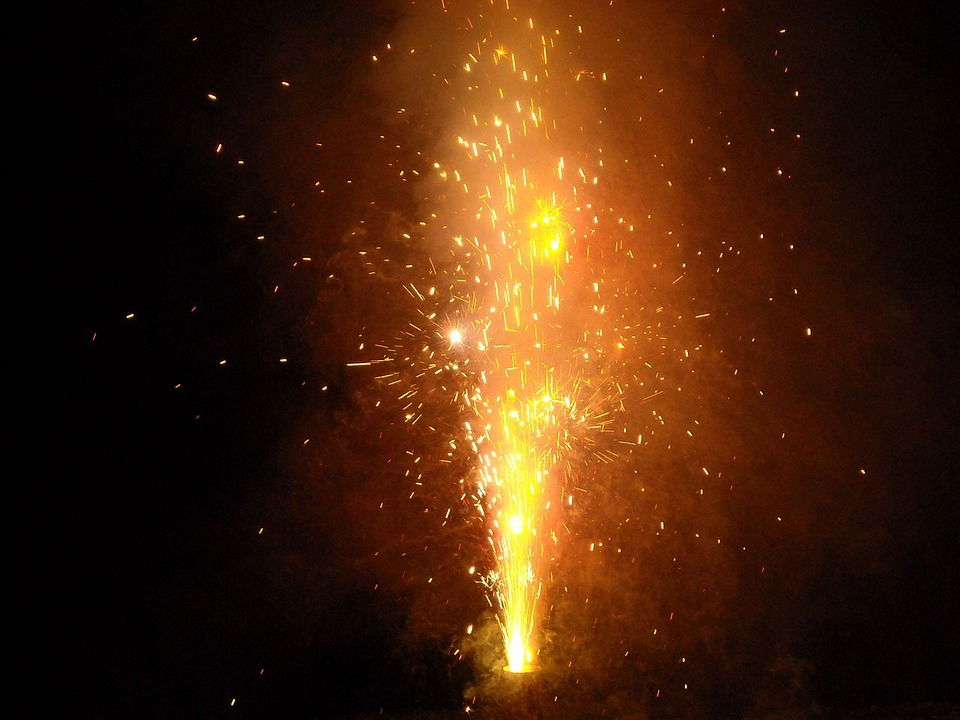 Fire, Works, Forth, July, Light, Show