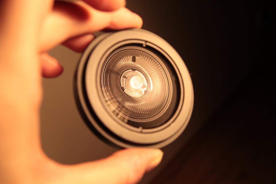 Lens, Reflection, Hand, Macro, Detail, Flash, Light