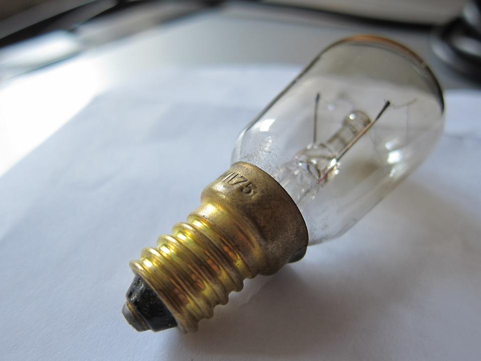 Lightbulb, Light, Glass