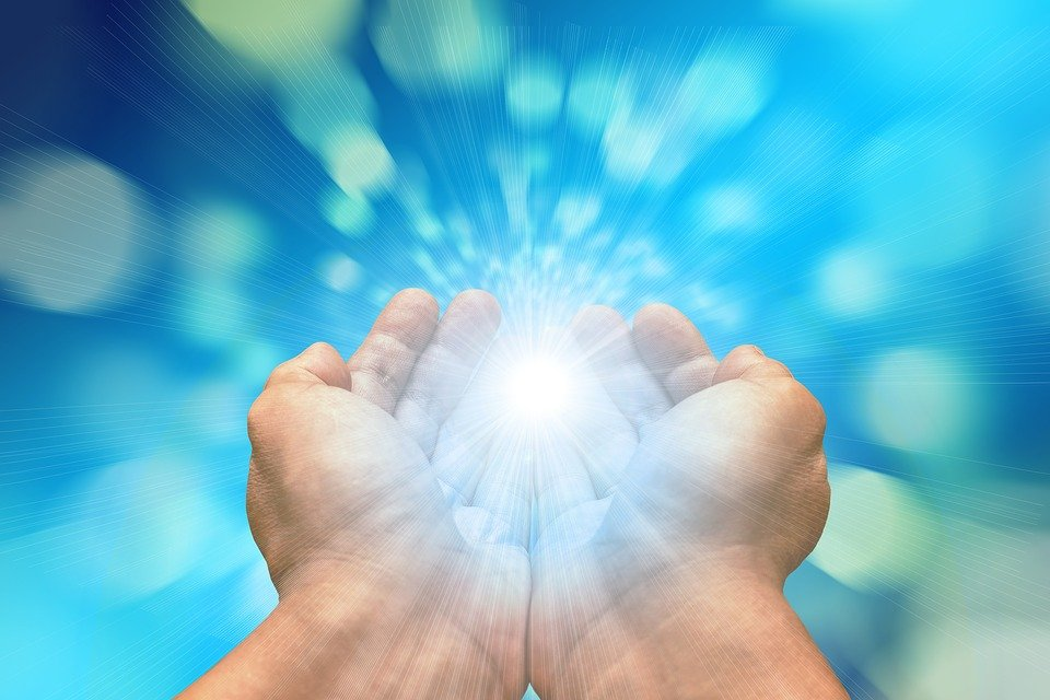 Hands, Received On, Light, Appreciation, Supernatural