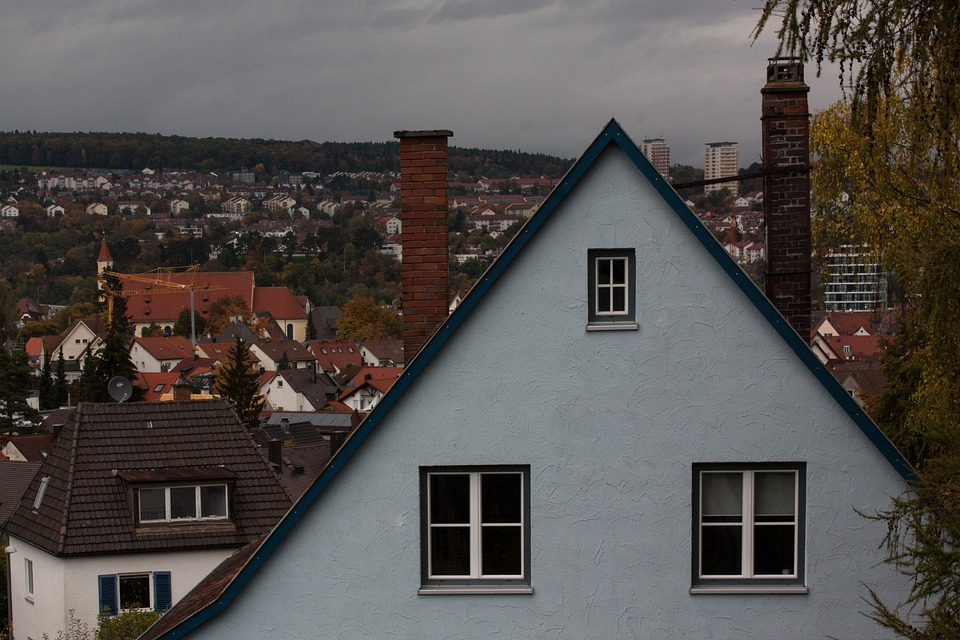 Autumn Weather, Rain, Home, 2 Window, Apartment, Light