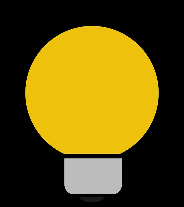 Icon, Bulb, Light, Idea