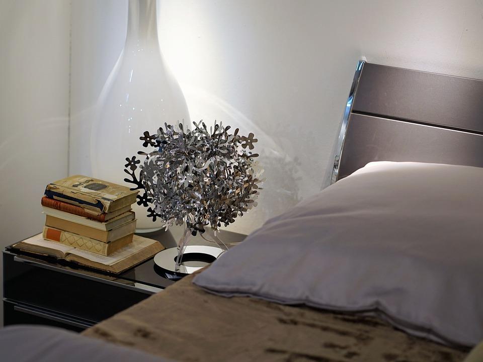 Luxury, Bed, Room, Lamp, Light, Decoration, Hotel