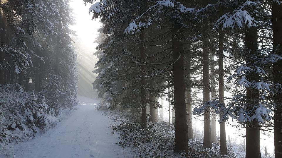 Winter, Landscape, Light, Snow, Mountains, Wintry