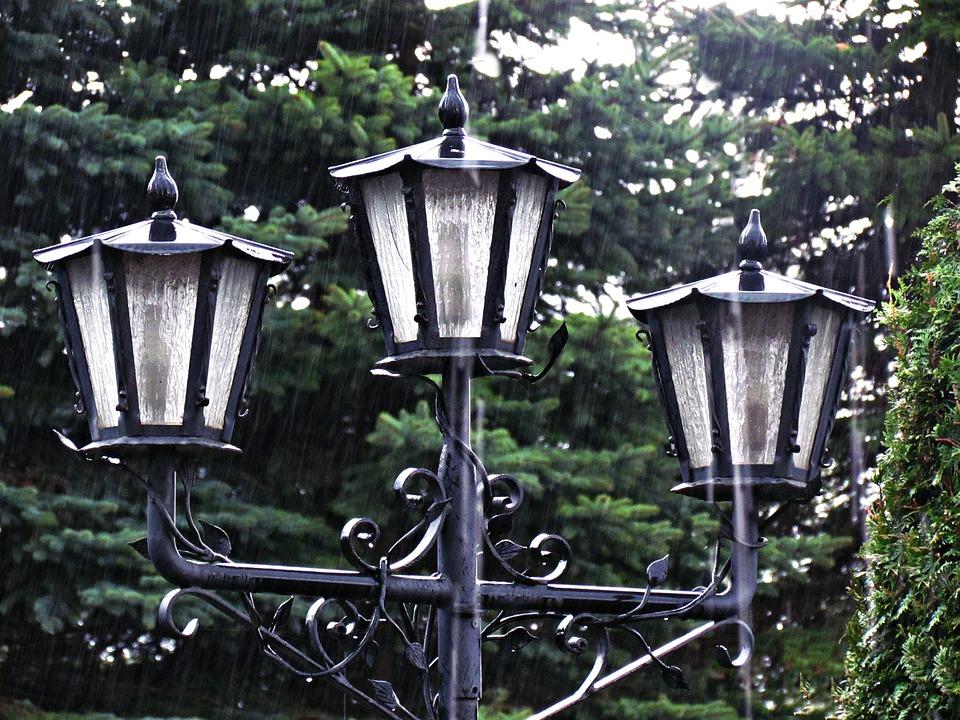 Lantern, Light, Rain, Lighting, Street Lamp, Lights