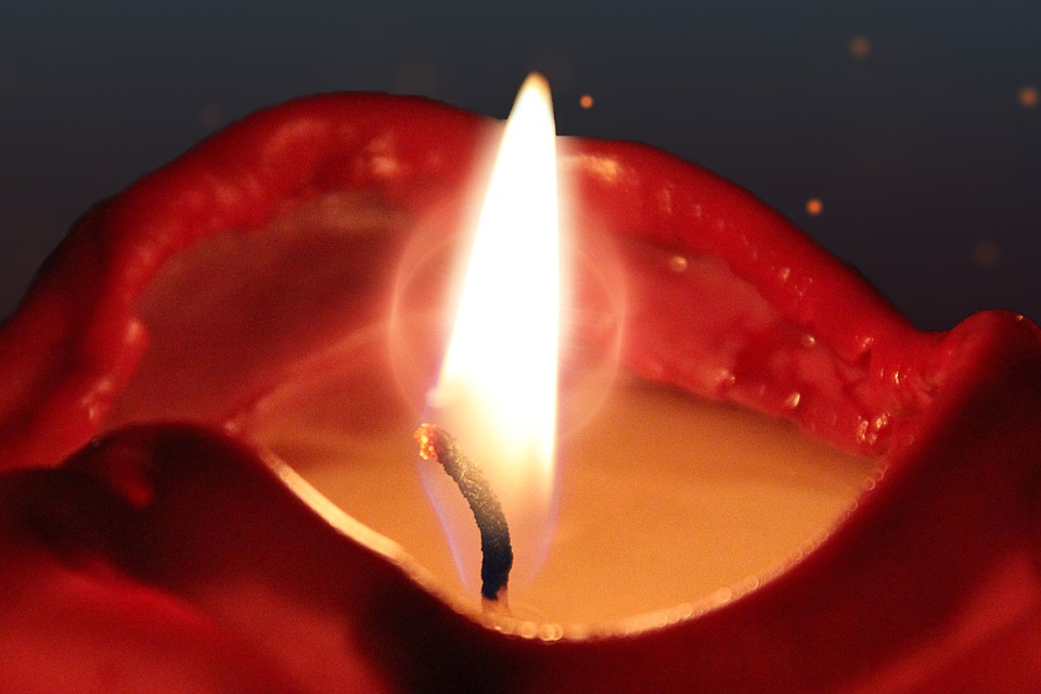 Candle, Candlelight, Flame, Light, Mood, Romance