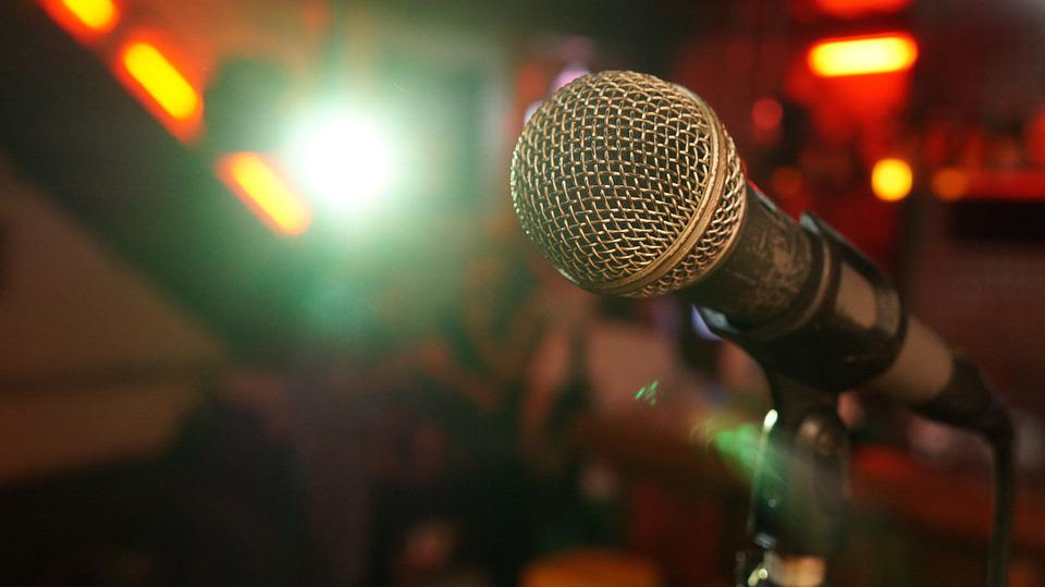 Microphone, Stage, Light, Show, Music, Sound, Sing