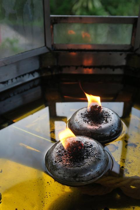 Oil Lamp, Light, Oil