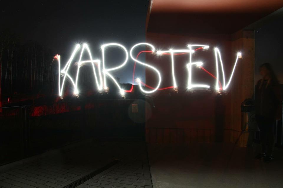 Light Painting, Mobile Phone, Long Exposure, Karsten