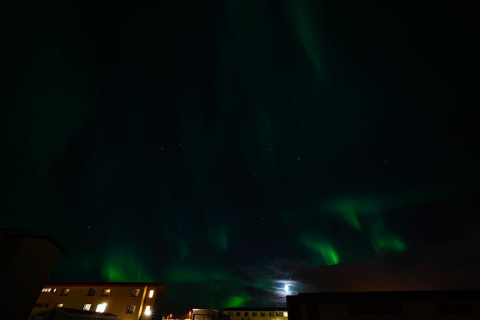 Aurora, Northern Lights, Light Phenomenon, Light, Green