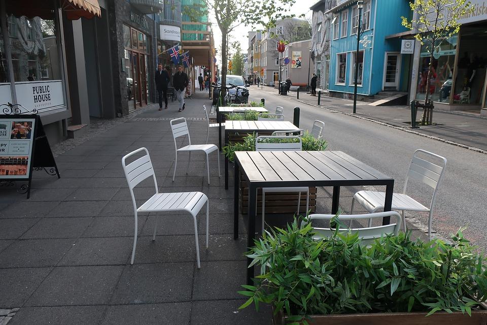 Evening, Cafe, Terrace, Restaurant, Pub, Light, Bistro