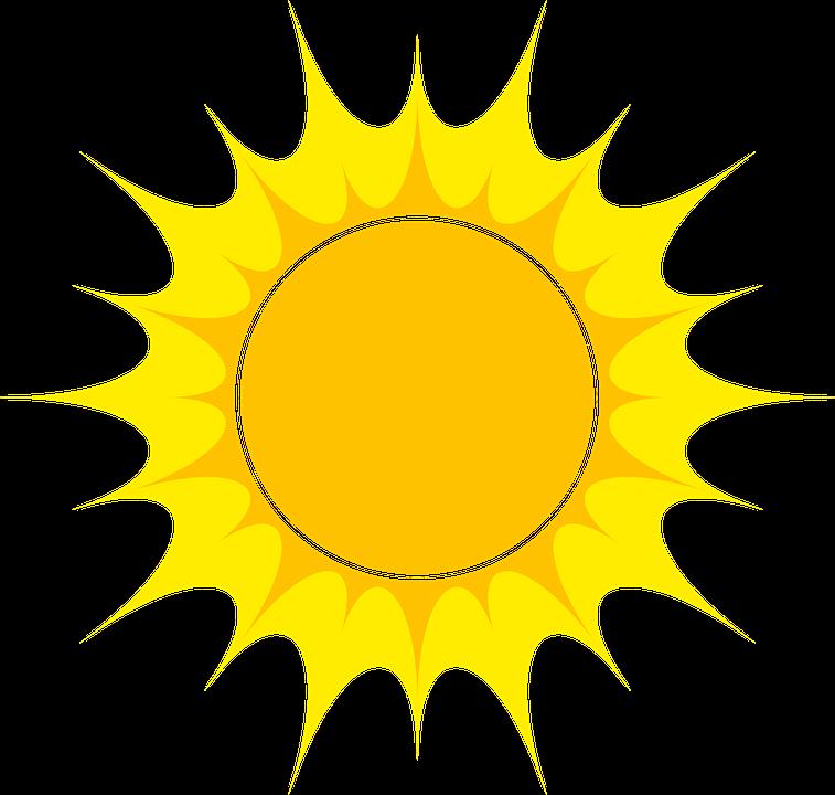 Sun, Astro, Vector, Ray, Lights, Ecological, Light