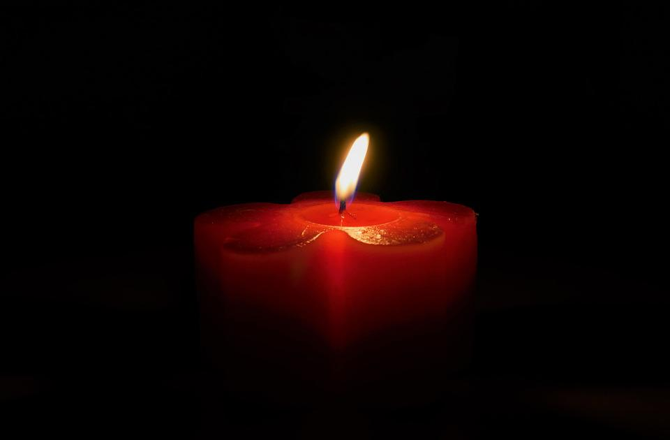 Candle, Burn, Flame, Red, Fire, Light, Wick