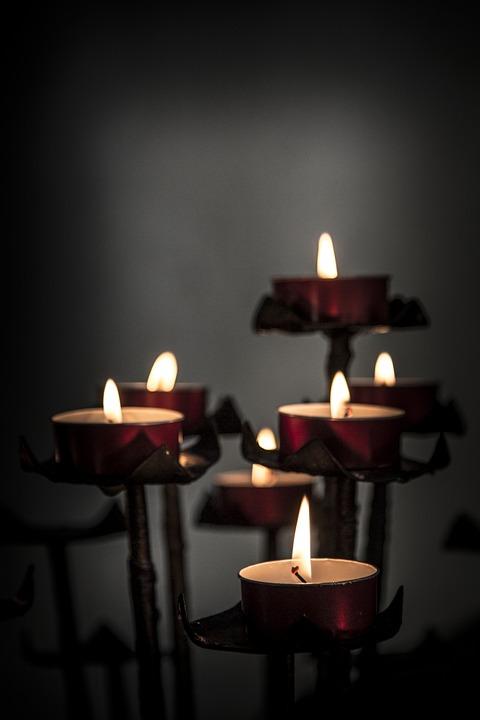 Church, Candles, Votive, Religion, Religious, Light