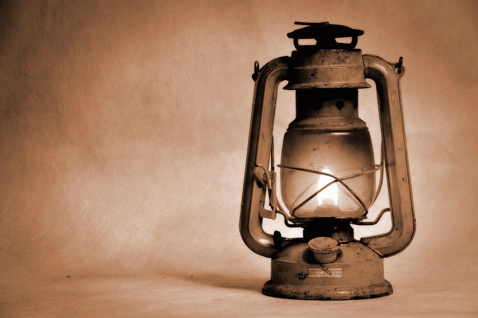Kerosene Lamp Old Replacement Light