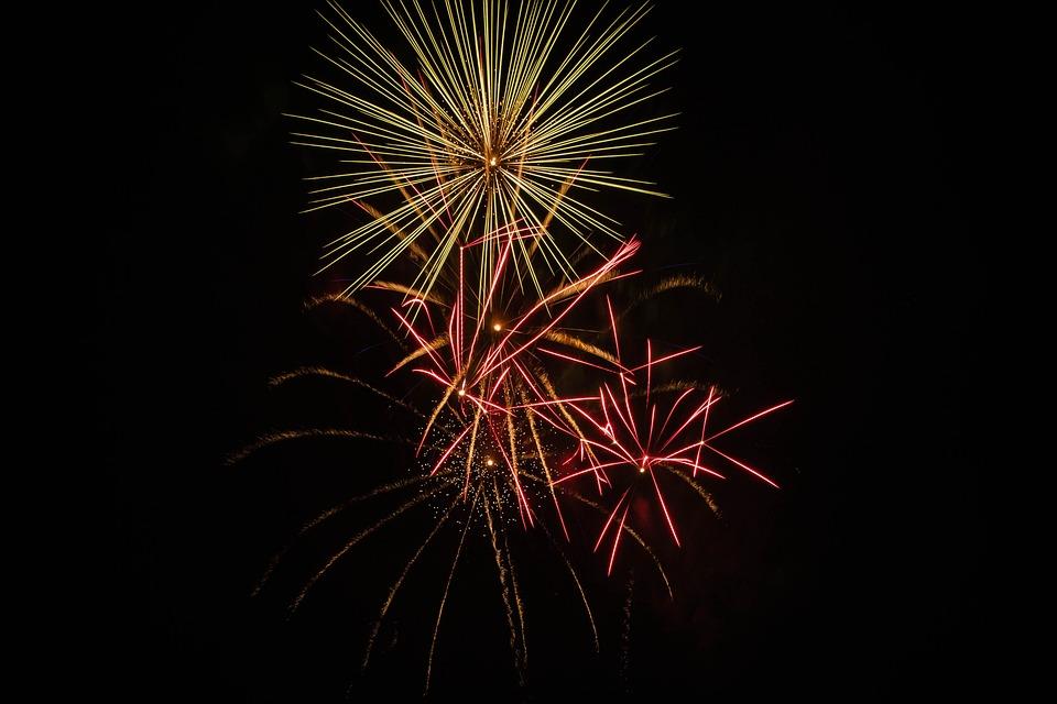 Australiaday, Fireworks, Light Show, Explosion, Event