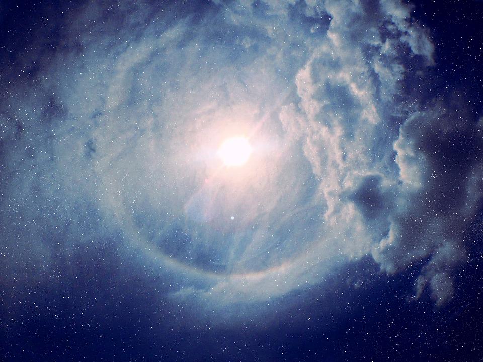 Sky, Star, Night, Space, Light, Dusk, Alien, Night Sky