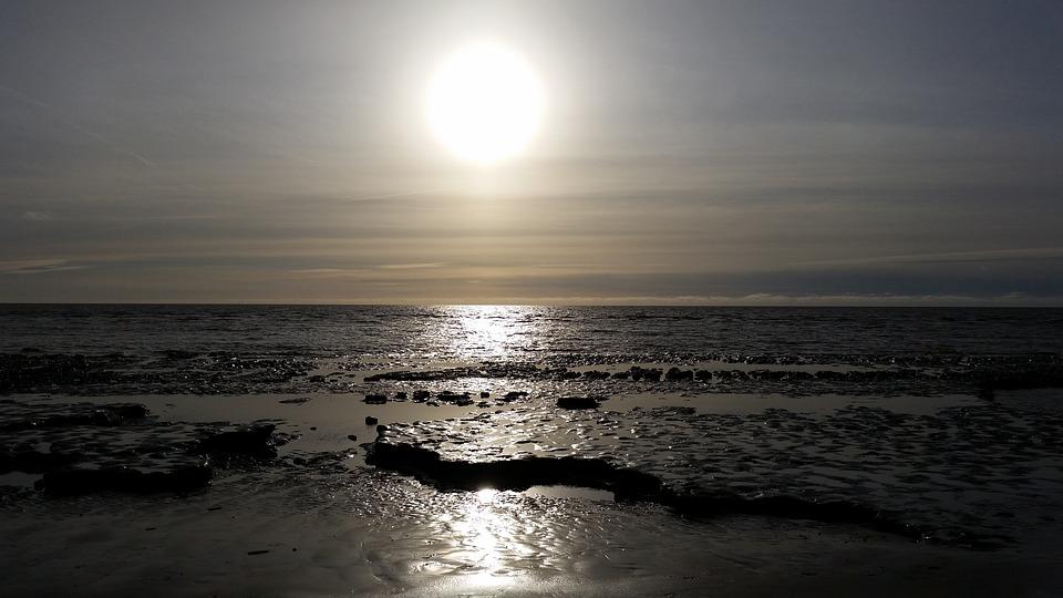 St Peter Oerding, Sunset, Light, Sea