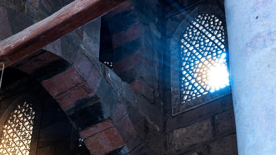 Mosque, Sun, Architecture, Light