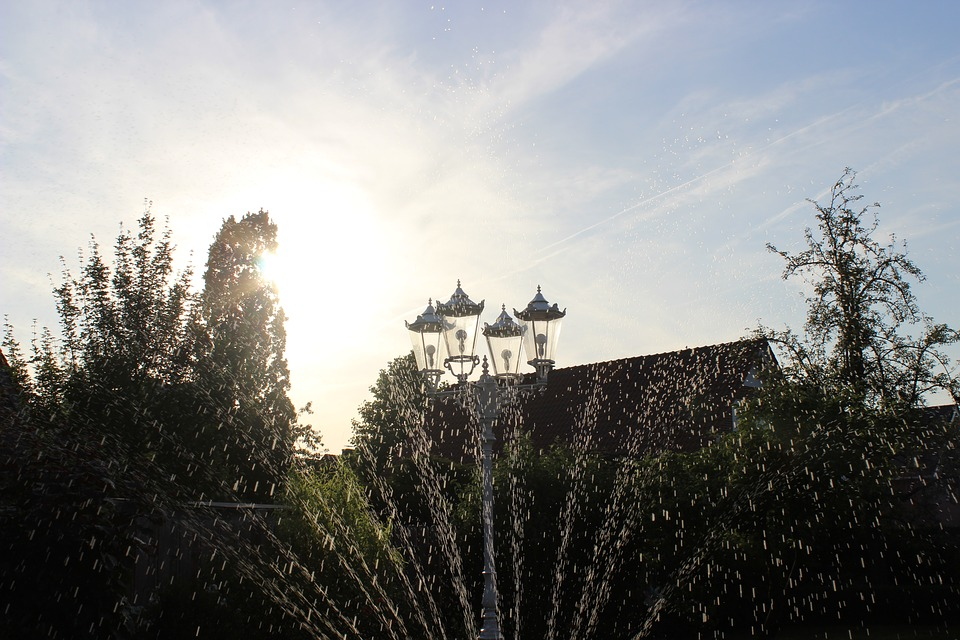 Garden, Lantern, Sun, Nature, Light, Lamp, Gartendeko