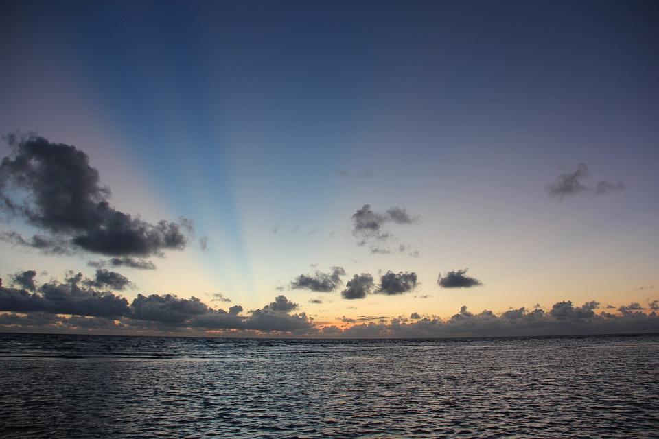 Sunrise, Rays, Light, Cloud, Nature, Landscape, Sun