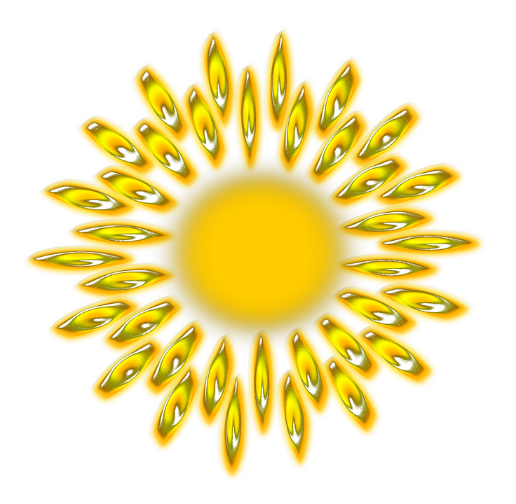 Sun, Solar, Sky, Light, System, Planet, Space, Sunny