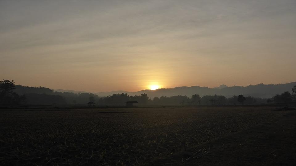 Sunrise, Sun, Nature, Sunlight, Light, Landscape