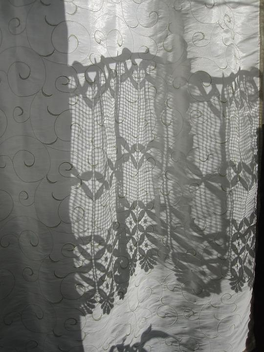 Curtain, Sweating, Shadow, Pattern, Light, Shadow Play