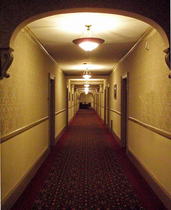 Corridor, Path, Tunnel, Light, Entrance, Dark, Passage