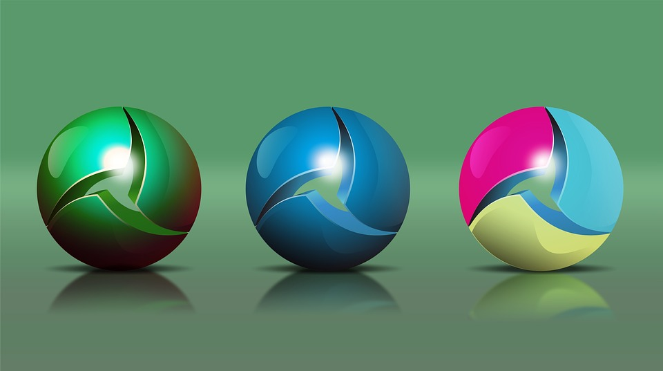 Sphere, Wallpaper, Shape, Circle, Light, Green Light
