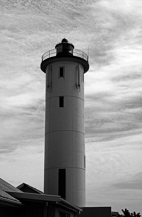 Lighthouse, Nautical, Beacon, Tall, Light, Warning