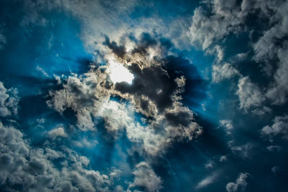 Clouds, Sky, Weather, Nature, Light, Heaven, Sunlight