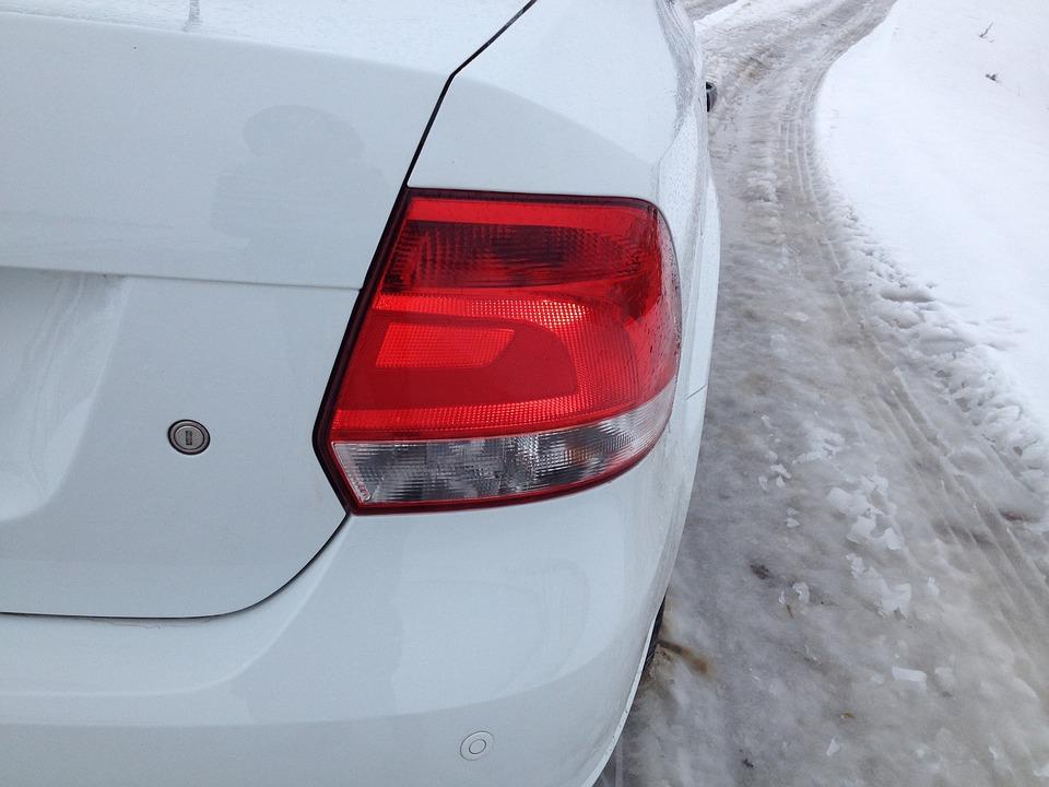 Light, Machine, Auto, Car, White, Polo, Volkswagen