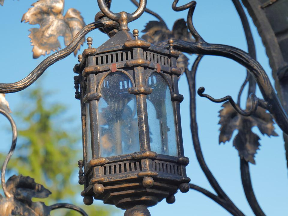 Lantern, Metal, Lighting, Street, Light, Lightbulb