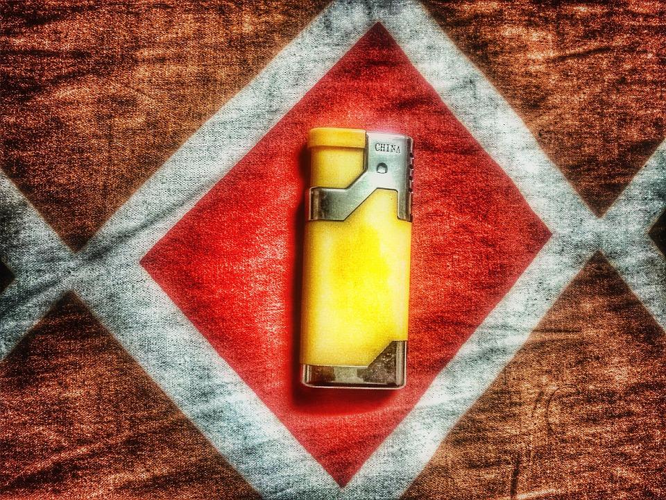 Chinese, Yellow, Lighter