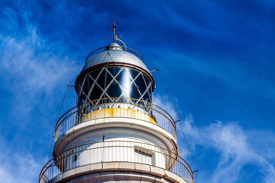 Lighthouse, Mallorca, Sea, Coast, Picturesque, Nature