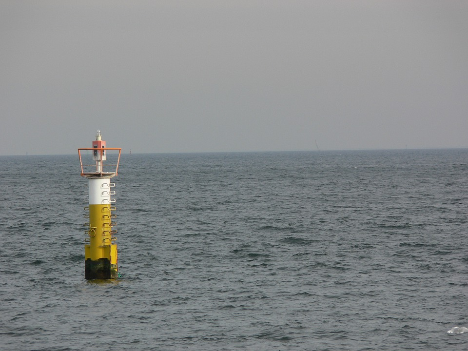Pacific, Cloudy, Costa, Water, Ocean, Lighthouse