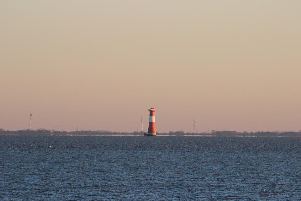 Dangast, Lighthouse, Coast, Nautical, Transport System
