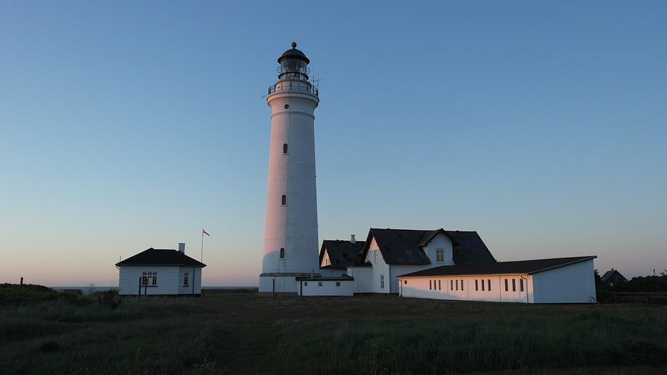 Denmark, Hirtshals, Lighthouse