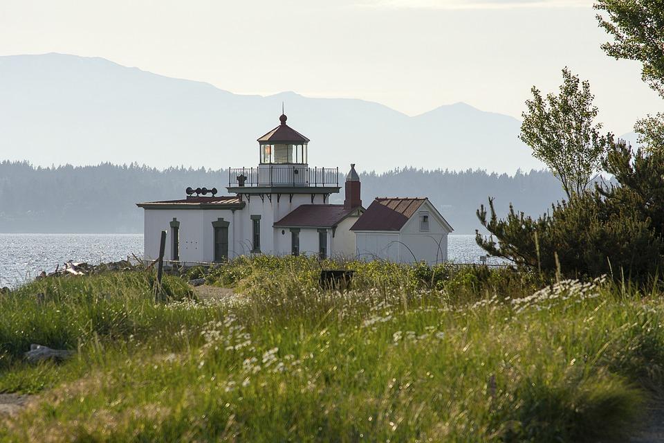 Discovery Park, Lighthouse, Light House, Landscape