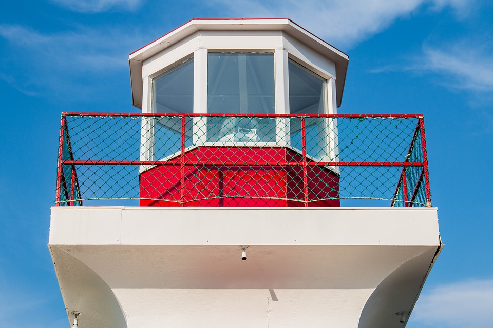 Lighthouse, Sky, Architecture, Contemporary, Glass