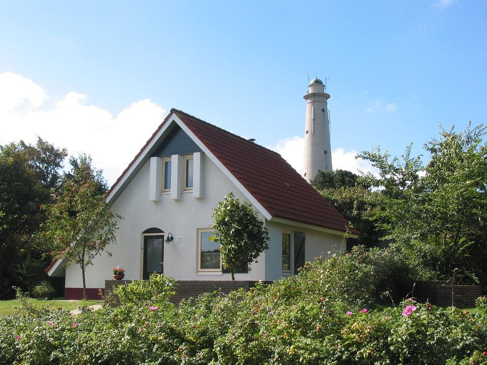 Lighthouse, Island, Shipping