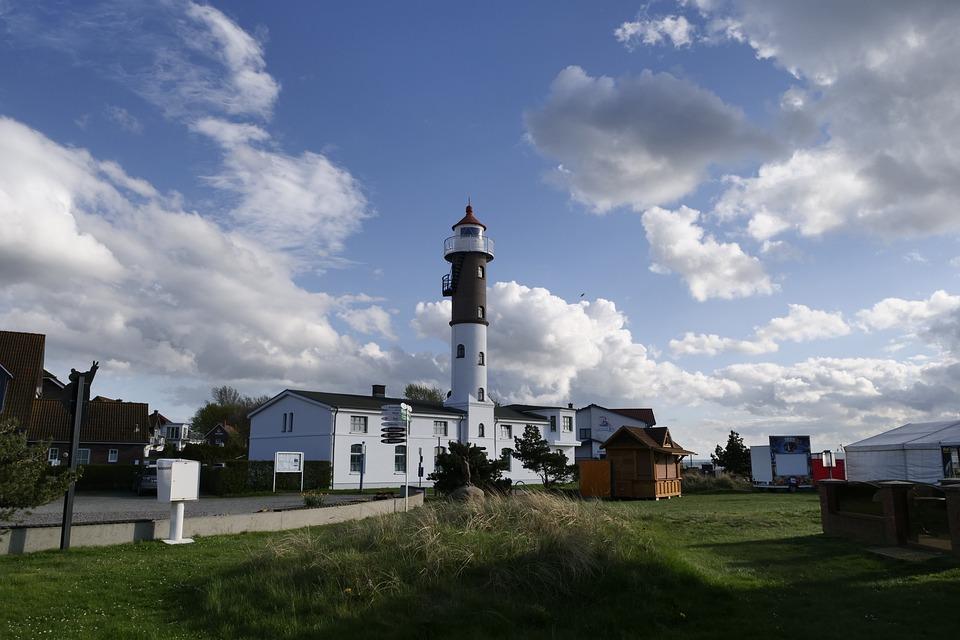 Architecture, Sky, Lighthouse, Lüchttorm